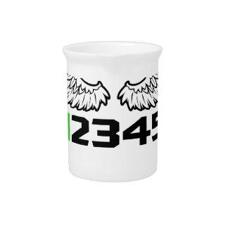 angel 1N23456 Drink Pitcher