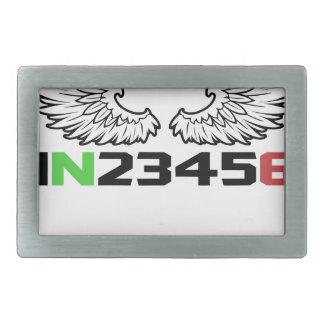 angel 1N23456 Rectangular Belt Buckle