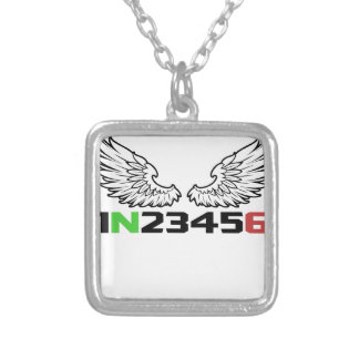 angel 1N23456 Silver Plated Necklace