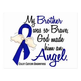 Angel 2 Brother Colon Cancer Postcard