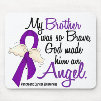 Angel 2 Brother Pancreatic Cancer Mouse Mat
