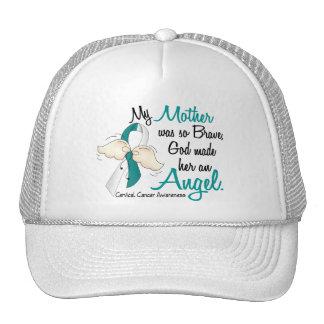 Angel 2 Cervical Cancer Mother Trucker Hats