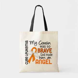 Angel 2 Cousin (Male) Leukemia Tote Bag