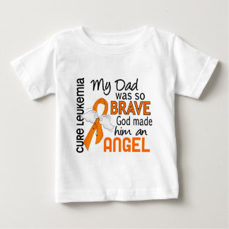 Angel 2 Dad Leukemia Baby T-Shirt