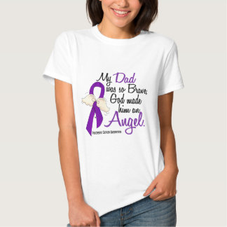 Angel 2 Dad Pancreatic Cancer T-shirts