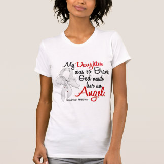 Angel 2 Daughter Lung Cancer T-shirts