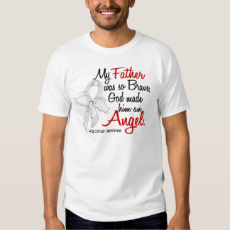Angel 2 Father Lung Cancer T-shirts