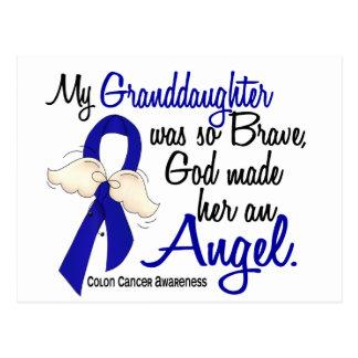 Angel 2 Granddaughter Colon Cancer Postcard