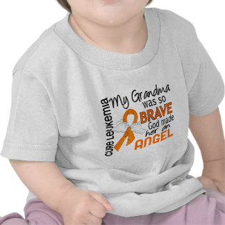 Angel 2 Grandma Leukemia T Shirt