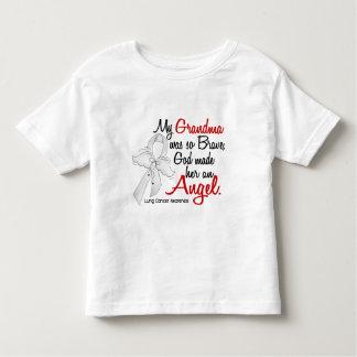 Angel 2 Grandma Lung Cancer T Shirt