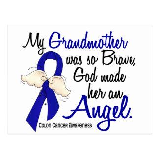 Angel 2 Grandmother Colon Cancer Postcard