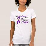 Angel 2 Grandmother Pancreatic Cancer T-Shirt