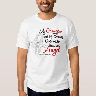 Angel 2 Grandpa Lung Cancer Tshirts