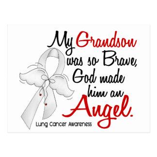 Angel 2 Grandson Lung Cancer Postcard