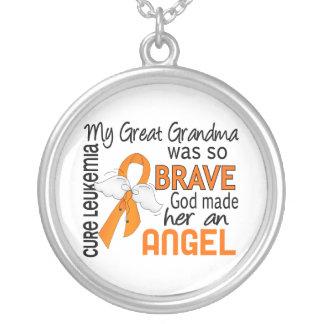 Angel 2 Great Grandma Leukemia Jewelry