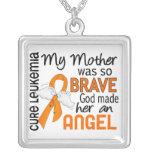 Angel 2 Mother Leukaemia Pendants