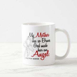 Angel 2 Mother Lung Cancer Mug