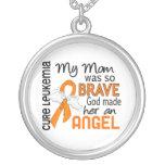 Angel 2 Mum Leukaemia Custom Necklace