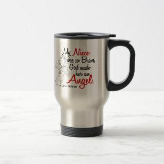 Angel 2 Niece Lung Cancer Mugs