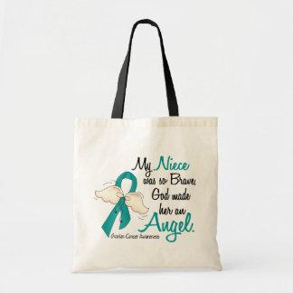 Angel 2 Ovarian Cancer Niece Bag