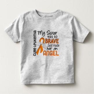 Angel 2 Sister Leukemia Toddler T-Shirt
