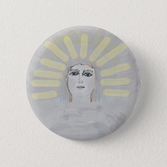 angel 5 8000 6 cm round badge
