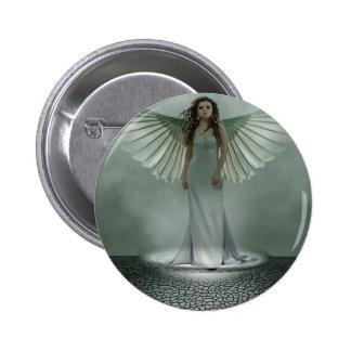 Angel 6 Cm Round Badge