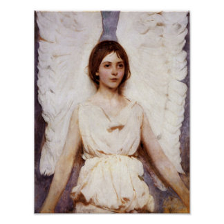 Angel, Abbott Handerson Thayer Fine Art Poster