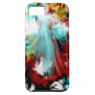 Angel Abstract Tough iPhone 5 Case