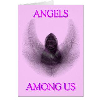 ANGEL AMONG US GREETING CARD