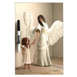 Angel and a kid Dry-Erase whiteboard