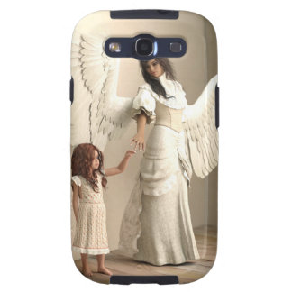 Angel and a kid samsung galaxy s3 covers