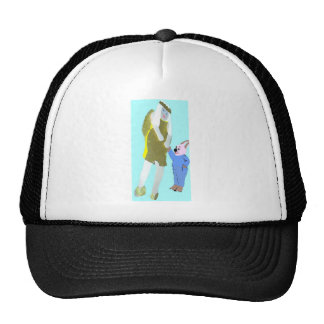 angel and a little rabbit from eBooks Hats