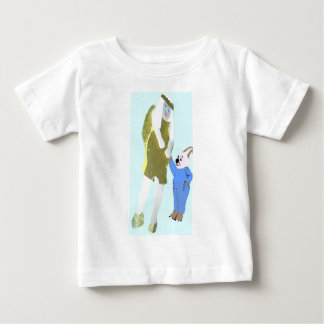 angel and a little rabbit from eBooks Tee Shirts