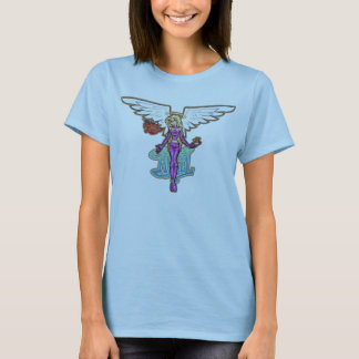 Angel And Baby Demon T-Shirt