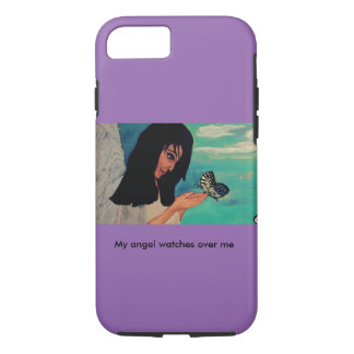 Angel and Butterfly iPhone 7 Case