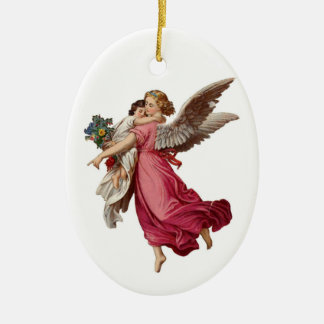 Angel and Child Christmas Ornament