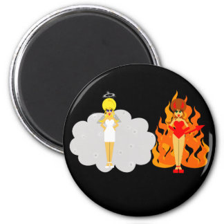 Angel and Devil Magnet