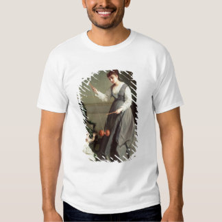 `Angel and Devil' or `Playing Diabolo Shirt