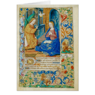 Angel and Mary Greeting Card