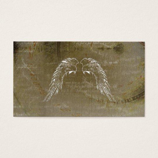 Angel Angels Wings Celtic Herbal Business Cards