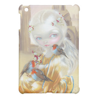 """Angel at Glastonbury Abbey"" iPad Case"