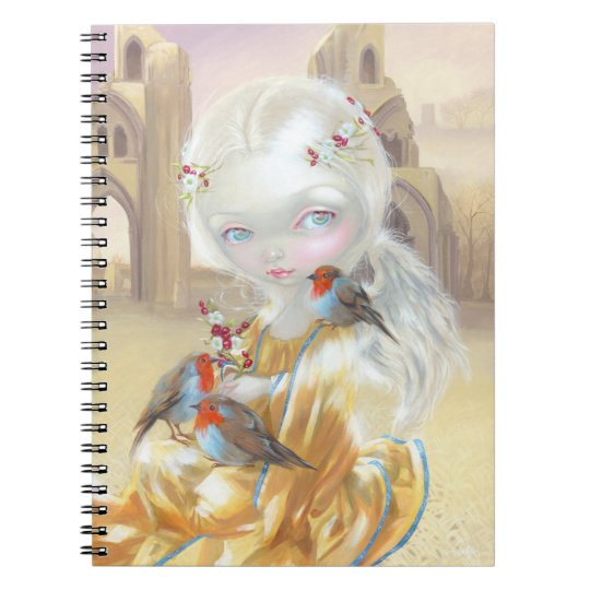"""Angel at Glastonbury Abbey"" Notebook"