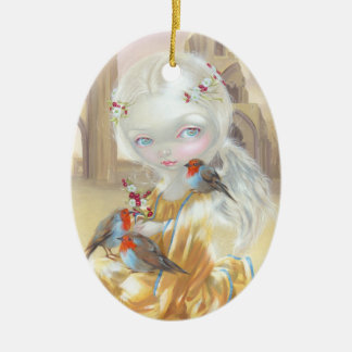"""Angel at Glastonbury Abbey"" Ornament"