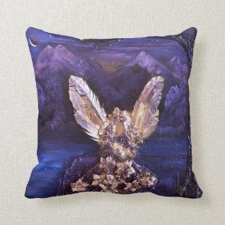 Angel At Sunrise Throw Cushion