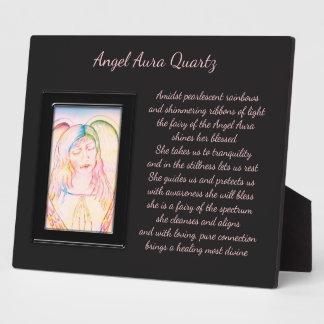 Angel Aura Quartz Fairy Plaque