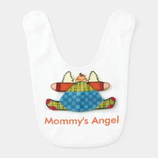 Angel baby baby bibs