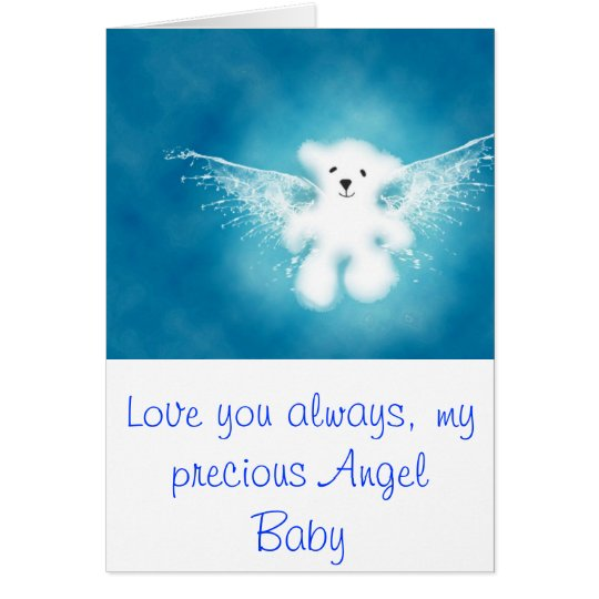 Angel Baby Card