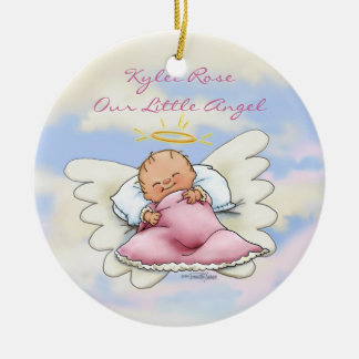 Angel Baby Girl Ornament