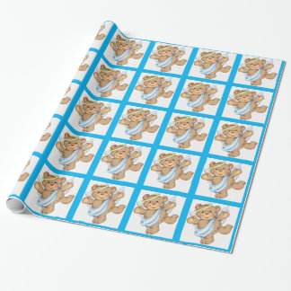 Angel Bear Wrapping Paper